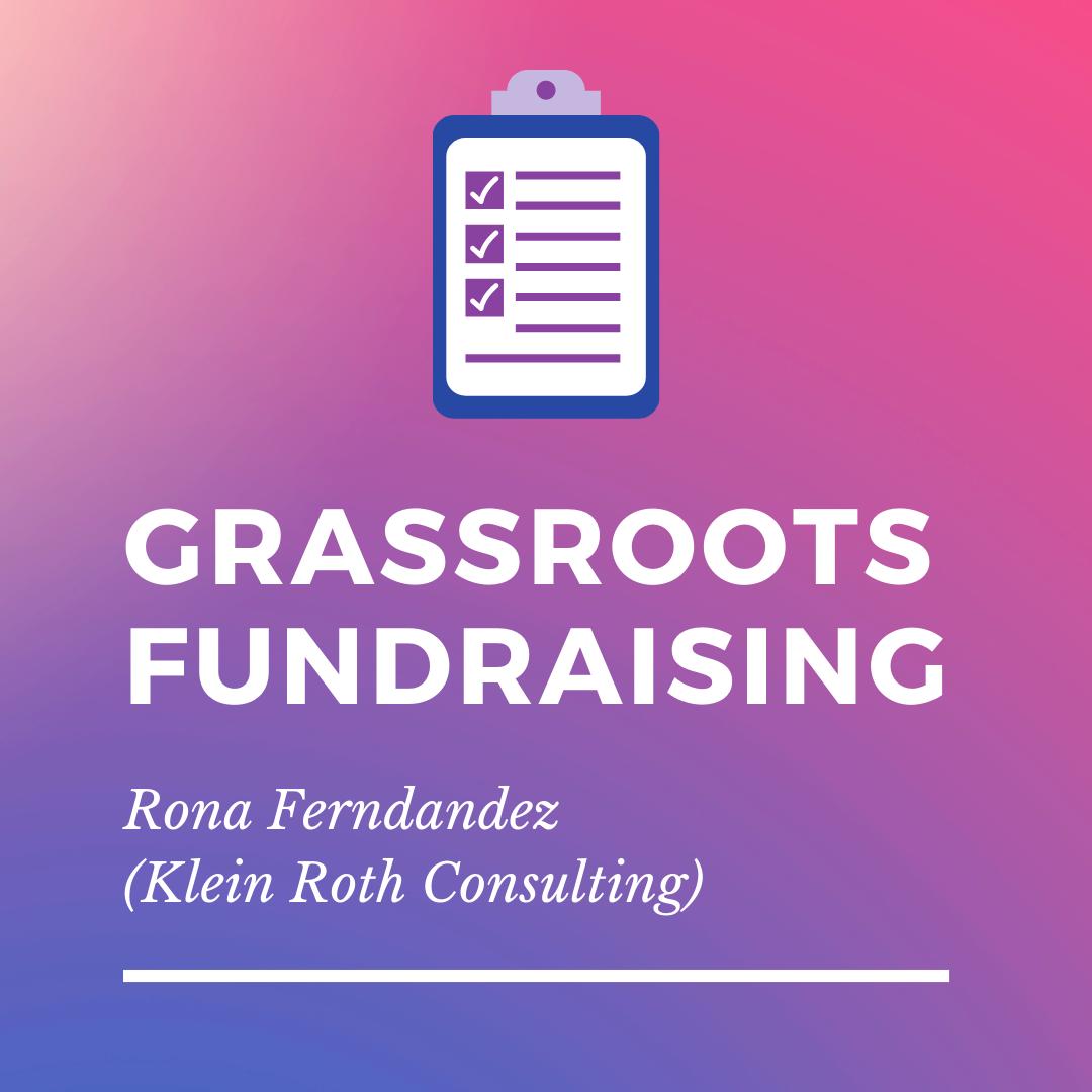 Grassroots Fundraising