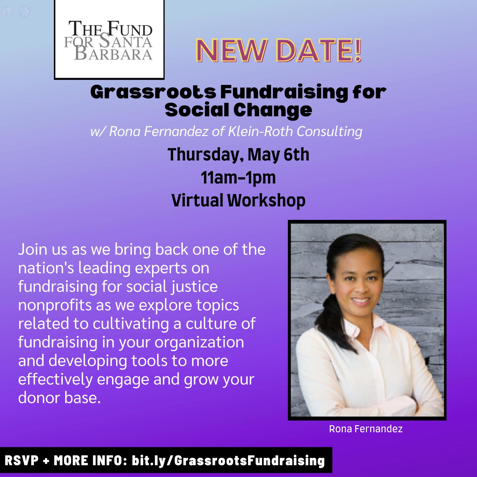 2021 Grassroots Fundraising - May